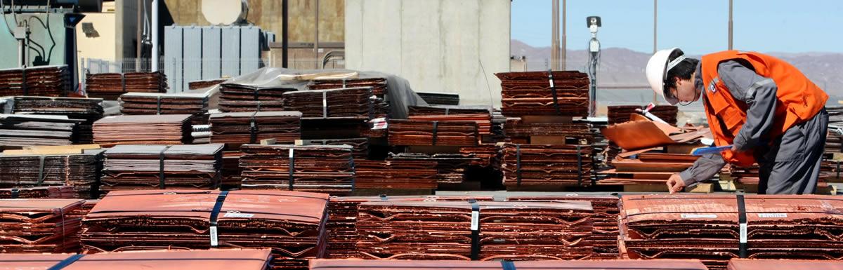 Economía Chilena basada en el cobre